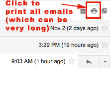 print all mail in a Gmail conversation